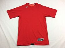 New Balance - Red Compression Short Sleeve Shirt (L) - Used
