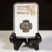 Kingdom of Macedon Alexander III, 336-323 BC NGC F  ***Rev. Tye's*** #4001264