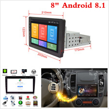 """Touchscreen 1 DIN 8"""" HD Car Stereo Radio MP5 Player Android 8.1 GPS Navi WiFi 4G"""