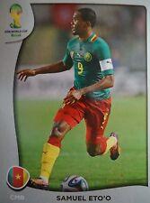 Panini P19 Samuel Eto'o Kamerun FIFA WM 2014 Brasilien