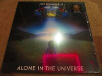 """Jeff Lynne's ELO - Alone In The Universe 12"""" LP NEAR MINT SEALED NEVER PLAYED"""