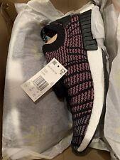 adidas NMD R1 STLT Black Grey Solar Pink Sz 11.5 BNIB CQ2386 Running Shoe