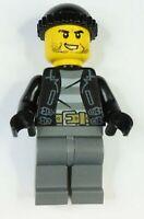 LEGO CITY Police City Bandit Crook NEW orig LEGO 60233 - cty0930 minifigures GB2