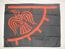 Viking Banner Odinic Raven Flag Norse Pagan/Heathen Odin Thor Loki Bifrost bn