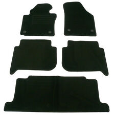 TAPIS SOL MOQUETTE NOIR SPECIFIQUE VW TOURAN GP2 7 PLACES 09/2010-UP TSI TDI