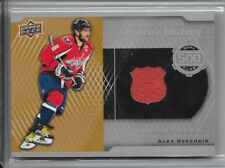 16-17 UPPER DECK A PIECE OF HISTORY 500 GOAL CLUB #GC-AO ALEX OVECHKIN CAPITALS