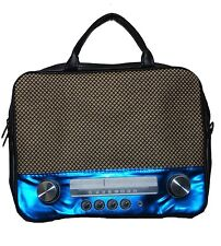 "Borsa Notebook nel retro-style 39,6cm (15"") di culto 70er Retro Radio BAG"