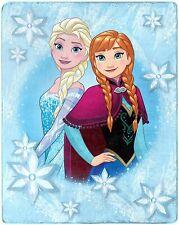 Disney Frozen Elsa & Anna Silky Soft Throw 40 in x 50 in
