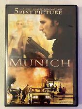 Steven Spielberg Munich (2005) Widescreen Dvd, Daniel Craig, Eric Bana, Like New