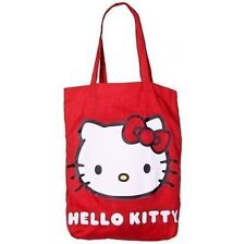 Hello Kitty Rojo Clásico Tote Bag