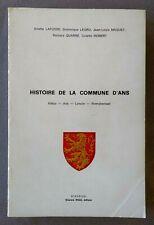 ANS: Histoire de la commune de ANS (+ ALLEUR, LONCIN, XHENDREMAEL) 1981