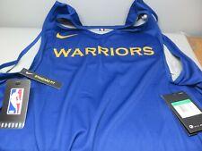 Nike Golden State Warriors Practice Jersey NBA Reversible AJ4731-495 Multi-Size