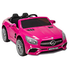 Dakavia Mercedes-Benz Kids Ride-On Car Remote Control 3 Speed 12V Power Wheels