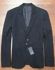 Armani Exchange A|X $230 Men's Black Stretch Mid-weight Blazer Sport Coat 44