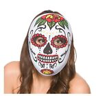Day Of the Dead Eye Masks Halloween Fancy Dress Adult Veil Eyemask Zombie Living