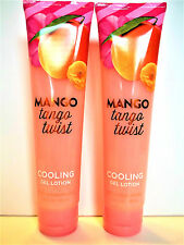 Bath Body Works MANGO TANGO TWIST Cooling Gel Lotion, 5.6 oz., NEW x 2