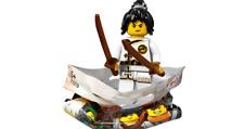 LEGO #71019 NINJAGO MOVIE SERIES MINIFIGURE SPINJITSU TRAINING NYA
