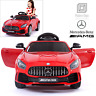 Licensed Mercedes Benz AMG GTR 12V Kids Electric Ride On Car with Remote Control