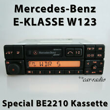 Original Mercedes Special BE2210 Becker W123 Autoradio E-Klasse C123 Kassette