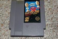 Clu Clu Land (Nintendo Entertainment System NES) Cart Only