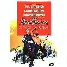 THE BUCCANEER - UK Region 2 Compatible DVD Yul Brynner, Claire Bloom, Anthony