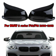 Schwarz Glänzend Spiegelkappen Für BMW F10 F11 F18 Pre-LCI 2011-2013 Abdeckung