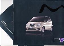 Lancia - Musa - Prospekt+Preise - 09/2011- Deutsch - nl-Versandhandel