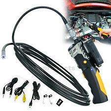 Video Inspection Camera 5M Cable 8.2MM Borescope Endoscope 360° Rotate Flip 3.5""