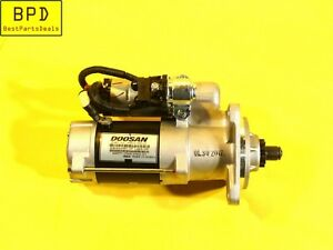 Genuine Engine Starter 24V 4.5 KW OEM DAEWOO DOOSAN 300516-00041B