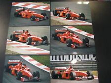 Photo Scuderia Ferrari Marlboro F399 1999 #4 Eddie Irvine (GBR) GP Belgium 6x
