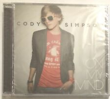 Cody Simpson On My Mind + Remix 2 track CD single NEW
