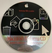 Vintage 1995 Apple Computers Macintosh Performa 580 CD System Software Install