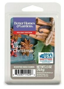 Scented Wax Cube Melts Holiday Edition