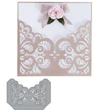 Flourish Lace Pocket paper Craft metal Cutting Dies Scrapbooking decorative NEW