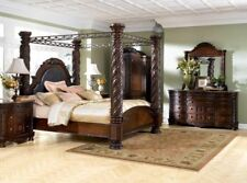 Ashley Furniture North Shore 8 Piece Bedroom Canopy Bedroom Set B553