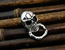 Skull with Ring Concho Biker Wallet Purse Chain Connnector DIY LeatherCraft