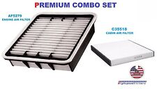 AIR FILTER & CABIN FILTER COMBO FOR 2001 2002 2003 2004 2005 2006 LEXUS LS430