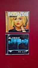 2 Blondie CD's-Denis/No Exit