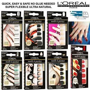 L'Oreal Nails A Porter Colour Riche Super Flexible/No glue False Nails 24 Pack