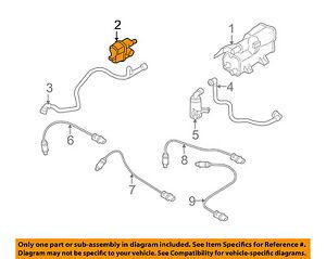 BMW OEM 03-15 Z4 Emission Vapor Canister-Detection Pump 16137193479