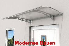 Gutta Pultvordach Vordach PT/AL 140 x 90 cm   Polycarbonat klar   Träger Stahl