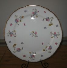 "ROYAL STAFFORD Violets Pompadour 10.5"" DINNER PLATES England Retired pattern"