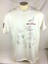 1995 Sears Point Raceway Superbikes Competition Signed T Shirt Mens Size XL