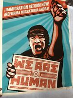 Shepard Fairey Obey Giant Not One More 2009 Street Art Immigration Print Poster