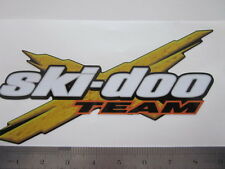 "Team Ski-Doo Decal 6""x 4 1/2 in size"