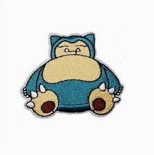 1 Écusson Brodé Thermocollant NEUF ( Patch ) - Pokémon Ronflex ( Snorlax )