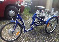 E-Bike, Elektrodreirad, Pedelec , Dreirad, Elektrofahrrad, Senioren-Fahrrad