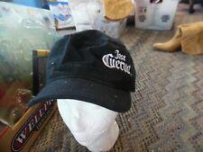 a008a2f4 Jose Cuervo black pillbox cap hat adjustable by Quake City Caps