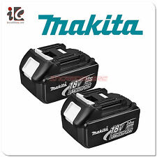 2pc Genuine Makita BL1830 18V LXT Lithium-Ion Battery Pack 3.0Ah NEW BL1830 NEW