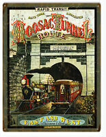 Hoosac Tunnel Route 1874 Railroad Sign